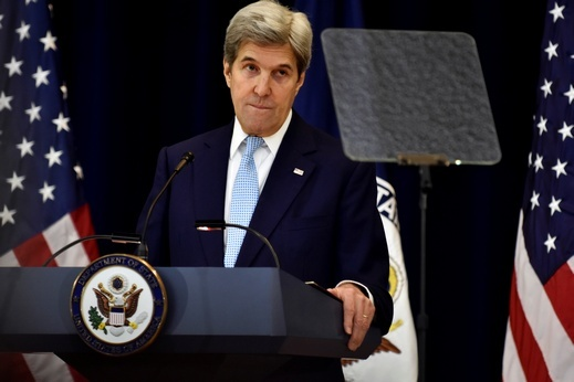 كيري: إسترلتيجية واشنطن جاءت لتأهيل الجيش العراقي