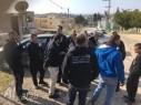 عدد من شبان باقة يطالبون بإزالة مكبرات الأمواج الخليوية واستبدالها بهوائيات مراقبة