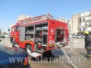 إندلاع حريق في شقة سكنية في بيتح تكفا