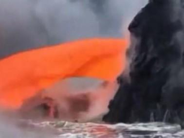 أعماق الأرض تفيض بالحمم البركانية
