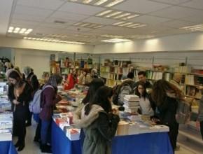 نجاح كبير لمعرض الكتاب في جامعة تل ابيب وفعاليته مستمرة حتى الاربعاء