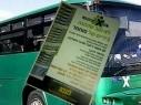 ملصقات عنصرية تطالب شركة ايجد في القدس بفصل السائقين العرب لديها