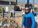 البعنة: تغيير شبكة مياه الصرف الصحي وتحسين البنى التحتية في الشارع الرئيسي