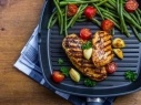 الدجاج المشوي مع الخضروات..صحتين وعافية