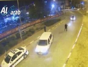 بالفيديو: دهس شرطي في الناصرة واعتقال 4 شبان مشتبهين من المدينة