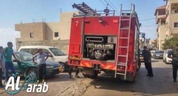 4 اصابات في حادث طرق بين سيارتين غربي مجد الكروم