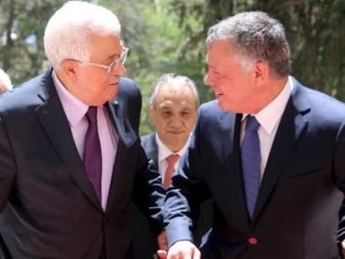 العاهل الأردني يبحث مع عباس عملية السلام والقدس