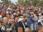 بالزغاريد.. الالاف في جنازة المربي يعقوب أبو القيعان وسط هتافات تندد بسياسة القتل والهدم