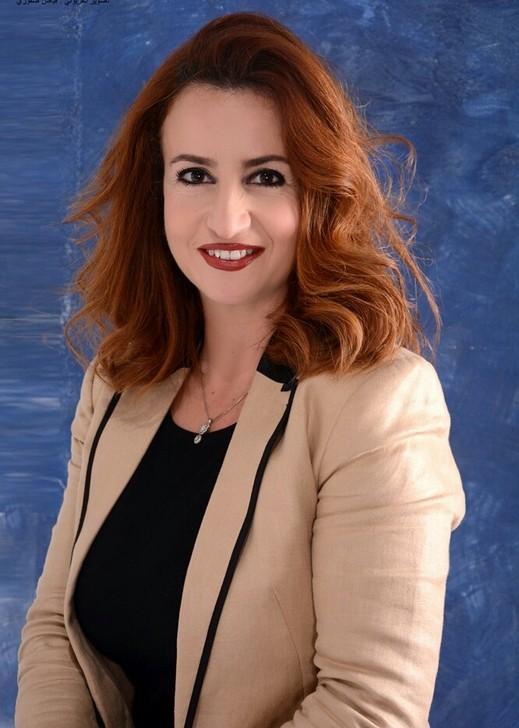 غيداء ريناوي زعبي أول عربية في ادارة روبين