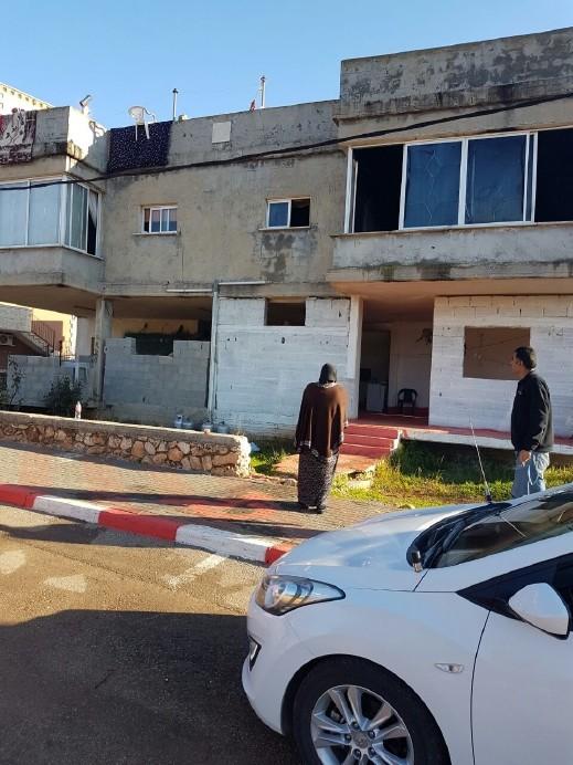 حريق في منزل في مدينة شفاعمرو