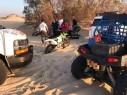 إصابة شاب بجراح متوسطة إثر إنزلاق دراجته الناريّة بالقرب من شاطئ نيتسيم