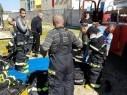 أبو سنان: تأهيل طاقم متطوعين للاطفاء والانقاذ وإستلام سيارة إطفاء