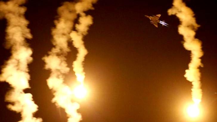 سقوط قذيفة من الأراضي السورية في هضبة الجولان
