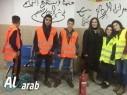 مجد الكروم: تمرين للطوارئ للهزات الأرضية في محمود درويش الاعدادية