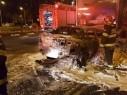 حيفا: إصابة شاب في حادث اصطدام عند مفترق مكسيم