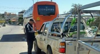أبو سنان: تسجيل 16 مخالفة واعتقال سائق بشبهة القيادة تحت تأثير المخدرات