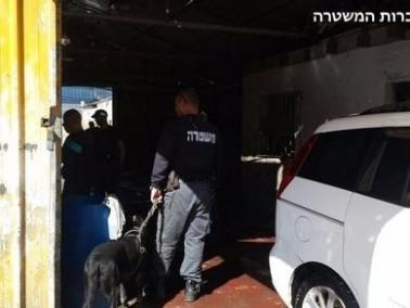 اللد: إعتقال مشتبهين بعد ضبط حيوانات مسروقة
