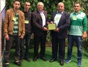 طرعان أول بلدة عربية تفوز بجائزة البلدة الخضراء لعام 2016