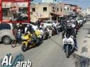 باقة: مسيرة دراجات نارية تعبيرًا عن الألم لفقدان طارق فقرا (25 عامًا) في حادث طرق