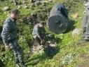 الشرطة: العثور على عبوة ناسفة ومخدرات في طوبا الزنغرية