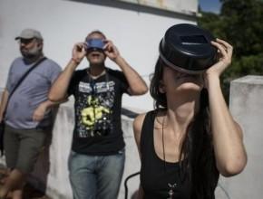 مدن أمريكا الجنوبية تشهد أول كسوف للشمس في 2017..صور