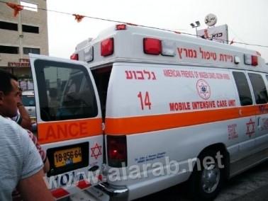 عفولة عيليت: إصابة شخص بعد فقدانه السيطرة على السيارة