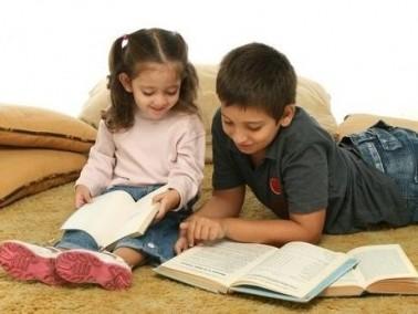 لنقرأ قصة الطفل والجني الأزرق