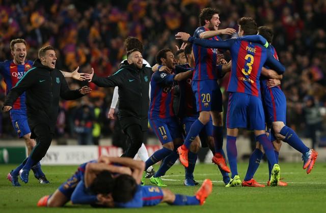 برشلونة يحقق معجزة تاريخية ويقلب الطاولة