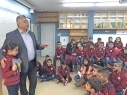 الإعلامي والكاتب نادر أبو تامر ضيف طلاب الشافعي في باقة الغربية