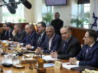 رئيس الوزراء نتنياهو ووزير المالية كاحلون سيبلو