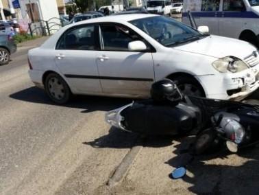 كفرياسيف: إصابة شخصين في حادث