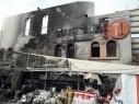 حريق هائل في مجمع كان زمان- حداد سنتر في ترشيحا يؤدي لأضرار جسيمة