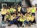 مجد الكروم: فرقة Moona5636 تتميّز بمسابقة الروبوتيكا في تل أبيب