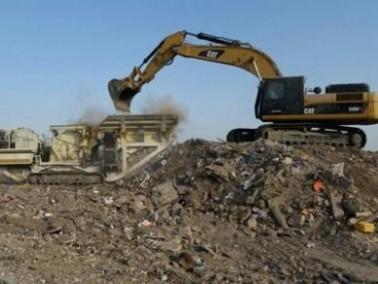 بستان المرج: الانتهاء من تنظيف مكبات النفايات