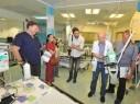 تقدّم وانجاز من خلال المؤتمرات والزيارات في المركز الطبي للجليل- نهاريا