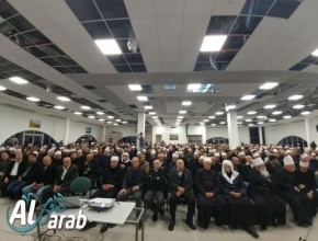 اجتماع احتجاجي واسع في عسفيا يندد بدخول البلدة في مشروع مجمع المياه