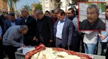 الطيبة: تشييع جثمان الدكتور زهير طيبي بحضور شخصيات سياسية واجتماعية بارزة