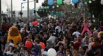 الآلاف في مهرجان الربيع الأضخم في مدينة القدس وأصوات تنادي بإستمراريته