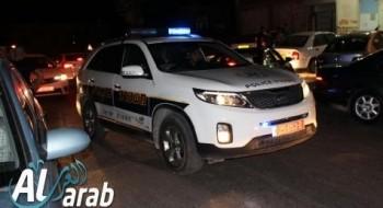 اعتقال مشتبه من البعنة بإلقاء زجاجات حارقة وتهشيم زجاج حافلة فريق نحف