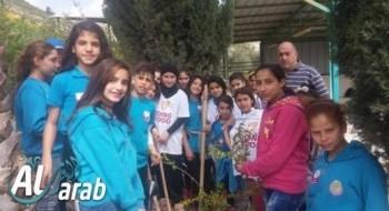 مجد الكروم: عمر بن الخطاب تشارك في يوم الأعمال الخيرية