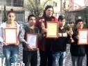 مجد الكروم: طلاب مدرسة السلام يتألقون في مسابقة اللغة الانجليزيّة