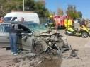 اصابة عدة اشخاص في حادث طرق بين حافلة وسيارة قرب نهاريا