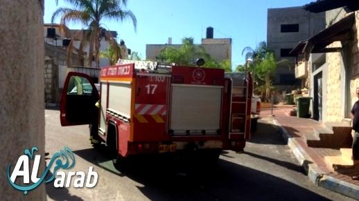 نتسيرت عيليت: إندلاع حريق داخل منزل دون إصابات