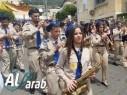 الرامة تحتفل بأحد الشعانين بمسيرة كشفية وقداس مميز