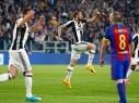 يوفنتوس يسحق برشلونة ذهاباً ويقترب من نصف نهائي دوري الأبطال