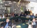 وفد من أكاديمية القاسمي يشارك حفل افتتاحية الكنيسة خبز وسمك في طبريا