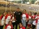 طلاب وطالبات أزهار الرياضة ببستان المرج يشاركون باليوم الرياضي الضخم في فينغيت