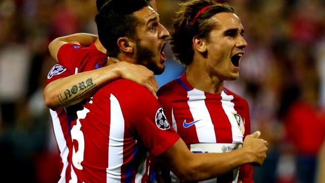 أتلتيكو مدريد يحقق فوزا صعبا على ليستر سيتي