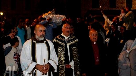 الناصرة: مشاركة واسعة في موكب جنّاز المسيح