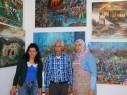 مرسم محمود بدارنة في سخنين يجسد رواية نكبة فلسطين بـ 700 لوحة